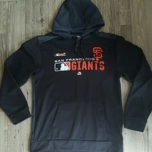 Authentic Majestic San Francisco Giants hoodie
